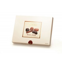 Hillier's Pearl Box Milk & Dark Assortment 220g