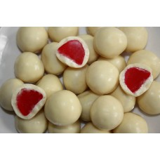 White Chocolate Raspberries 500g
