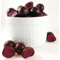 Dark Chocolate Raspberries 250g