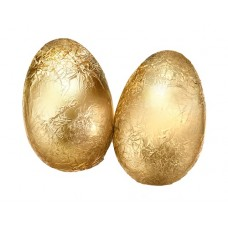 Gold Foil Milk Egg