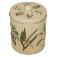 Botanical Biscuit Barrel