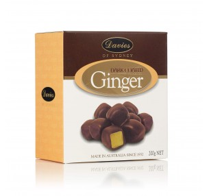 Dark Chocolate Ginger Box