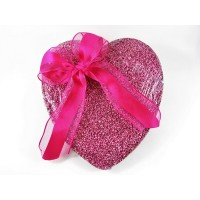 Pink Heart Speckle