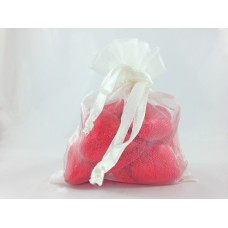 Mini Hearts Bag Red