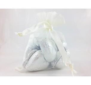 Mini Hearts Bag Silver