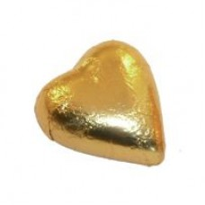 Milk Chocolate Hearts Gold 1kg