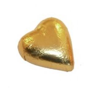 Milk Chocolate Hearts Gold 1kg