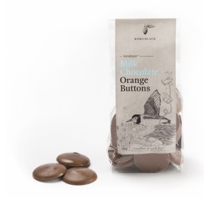 Milk Chocolate Orange Buttons