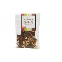 Milk  Chocolate Shards with Pretzel & Peanut