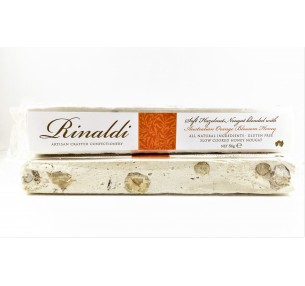 Hazelnut Nougat with Orange Blossom Honey